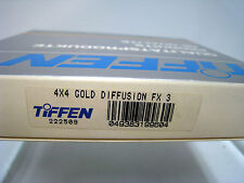 "New Tiffen 4x4"" Gold Diffusion FX 3 Glass Filter #44GDFX3"