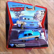 Disney PIXAR Cars 2 VLADIMIR TRUNKOV # 28 diecast LEMON boss Vlad Porto Corsa