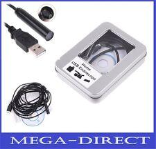 #1053 USB Borescope Endoscope 2M Home Waterproof Inspection Tube Video Camera