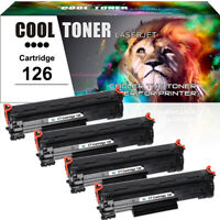 4PK for Canon 126 Toner Cartridge  ImageClass LBP6200d LBP6230dw LBP6230dn
