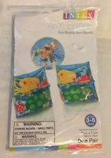 SWIMMING POOL ARM BANDS SEA BUDDY INTEX #59650EP Inflatable Child's Ages 3-6