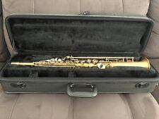 Conn Selmer Premiere 380 PSS380 Soprano Saxophone Sax - Excellent