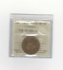 **Test Token**ICCS Graded Canadian,**MS-60**TT-100.23 (Misattributed Packaging)