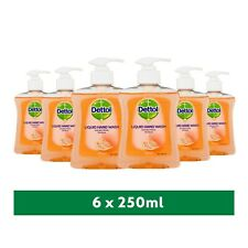 6 x Dettol Antibacterial Liquid Handwash Moisture Grapefruit 250ml