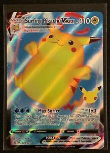 Surfing Pikachu VMax 009/025 Holo Rare | Pokemon Celebrations 25th Anniversary