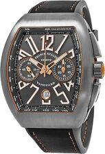 Franck Muller Vanguard Grey Dial Chronograph Swiss Automatic Watch 45CCGRYGRYGLD