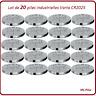 20 piles boutons CR2025 lithium Varta Industrielle, livraison rapide et gratuite