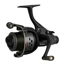 Okuma NEW Carbonite XP CBF 155a Baitfeeder Carp Reel - Spare Spool & Line- 54217