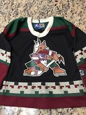 VINTAGE STARTER PHOENIX COYOTES HOME NHL HOCKEY JERSEY BOYS YOUTH SMALL