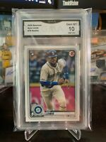 2020 Topps Bowman Kyle Lewis #78 Rookie RC Graded GMA 10 - Mariners QTY