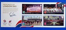GB REGINA ELISABETTA II 2012 Ricordi di Londra i giochi U / M M / Foglio SG M / S 3406