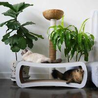 PetFusion Jumbo Cat Scratcher Lounge - White White