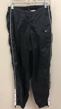 Vintage Nike Nylon Jogger Track Pants Size Youth Medium (8-10) Black