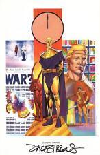 Alan Moore Watchmen Portfolio DC Comics Art Print SIGNED Dave Gibbons Ozymandias