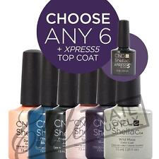 CND SHELLAC - 7.3ml - Any 6 Colours + XPRESS5 Top