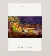 Grafolio Puuung's Illustration Love is Post Cards + Envelope Set Vol.1  Korean