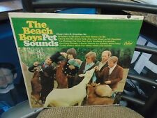 The Beach Boys Pet Sounds [Mono Rainbow Orig BRIAN WILSON] LP Capitol VG+