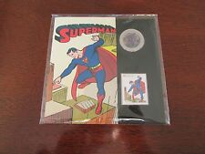 Canada 2013 'Superman' Lenticular 50 Cent Coin & Stamp Set