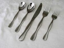 Oneida TERCET Stainless 5 Piece Place Setting Flatware NEW in Wraps