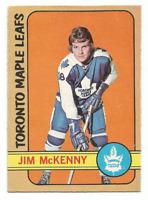 1972-73 O-Pee-Chee #83 Jim McKenny Toronto Maple Leafs