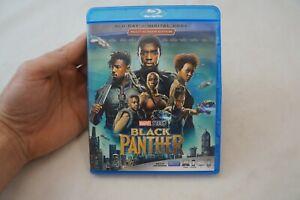 Black Panther W/O Slipcover (Blu-Ray, 1-Disc Set, 2018) No Digital Code, List #3