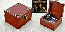 Vintage Classic Pirates of Caribbean - { He's A Pirate}  Wooden Music Box