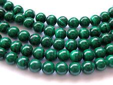 AAA Top Quality Genuine 7mm Malachite Bead 28 Beads