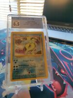 Pokemon 1999 Base Set Holo Unlimited 6/102 Gyarados CGC 6.5 Ex/NM+ PSA