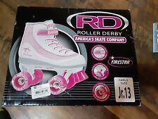FireStar Youth Girl's Roller Skate Size 13 Pink Lightweight Torsion Beam Frame
