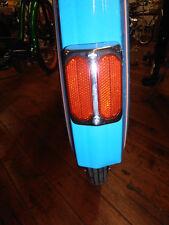 Columbia bicycle reflector 3 inch old school  schwinn twin red reflector mint