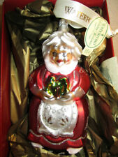 Waterford Holiday Heirlooms Mrs Clause Christmas Ornament # 144148