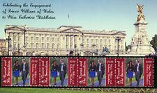 St Vincent & Grenadines 2010 MNH Royal Engagement Prince William 4v M/S I Stamps