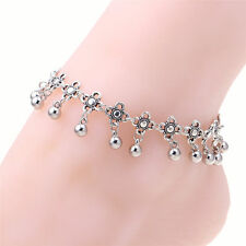 Wholesale Silver Bead Chain Anklet Bracelet Barefoot Sandal Beach Foot Jewelry