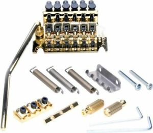 OPEN BOX Floyd Rose Special Locking TREMOLO Bridge & R2 Nut Gold OEM SALE