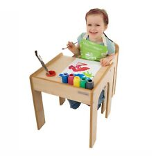 ❤️ SALE SALE Little Helper Childrens Kids Table & Chairs Set in Maple ❤️