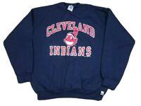 Vtg Cleveland Indians MLB 1994 Logo 7 Chief Wahoo Crewneck Sweatshirt XL USA 90s
