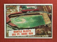 ∎ 1961 TOPPS baseball card MICKEY MANTLE #406 **MINT CARD**