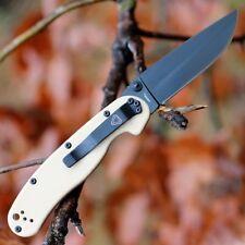 Couteau Ontario Rat II D2 Military Manche FRN Desert Tan Lame Acier D2 ON8830DT