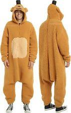 Freddy Fazbear Adult Costume Cosplay Bodysuit ~Five Nights At Freddy's Free Ship