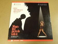 LASERDISC NTSC / WHAT'S LOVE GOT TO DO WITH IT ( TINA TURNER ) / ANGELA BASSETT