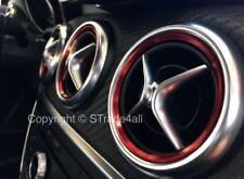 Lüftungsringe für Mercedes A B CLA GLA W176 W246 C117 X117 X156 Ring Rot