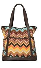Missoni for Target Colore Zig Zag Chevron  XL Handbag ~ Tote Bag - NWT