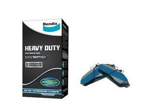 Bendix Front Heavy Duty Brake Pad Set DB2037 HD fits Alfa Romeo 147 1.9 JTDM  32
