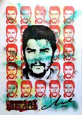 Antonio Maragnani - Tecnica mista su carta del 2019, omaggio a Che Guevara