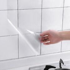60*300cm Transparent Kitchen Oil-proof Wall Sticker Heat-resistant self adh LuTs