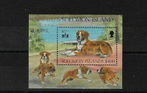BR SOLOMON IS MS791, 1994 HONG KONG EXHIBITION MINI SHEET MNH