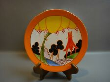 "Wedgwood Clarice Cliff ""Summerhouse"" Collector Plate"