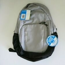 Columbia Multnomah Gray Day Pack Backpack Book Bag Laptop Compatible