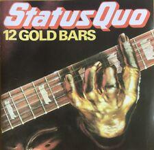 STATUS QUO 12 GOLD BARS CD VERTIGO GREY RED LABEL 1983 WEST GERMAN PRESSING