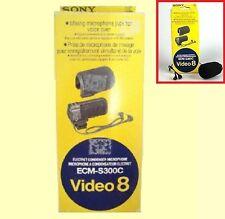 Sony ecm-s300c mezcla Conector Para Micrófono Para Voz Sobre Original-Nuevo